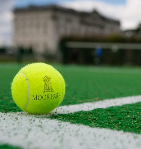 Moor Park Logoed Tennis Ball