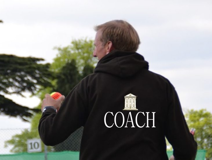 Tennis Coach in Moor Park hoodie