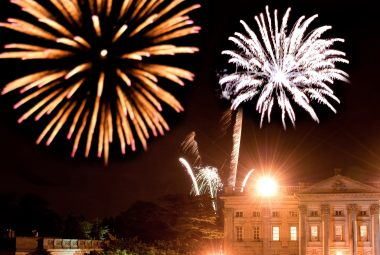 Fireworks over Moor Park Golf Club