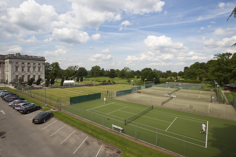 Tennis Courts in sun