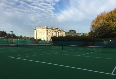 Tennis Courts in sun